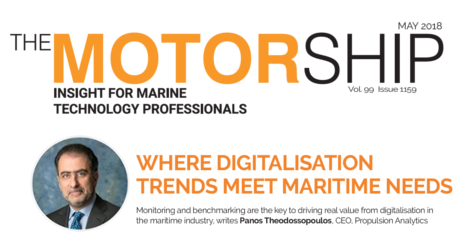 """Where digitalisation trends meet maritime needs"""